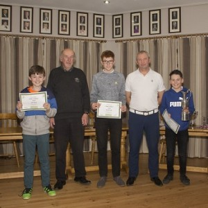 Junior Order of Merit  Winners